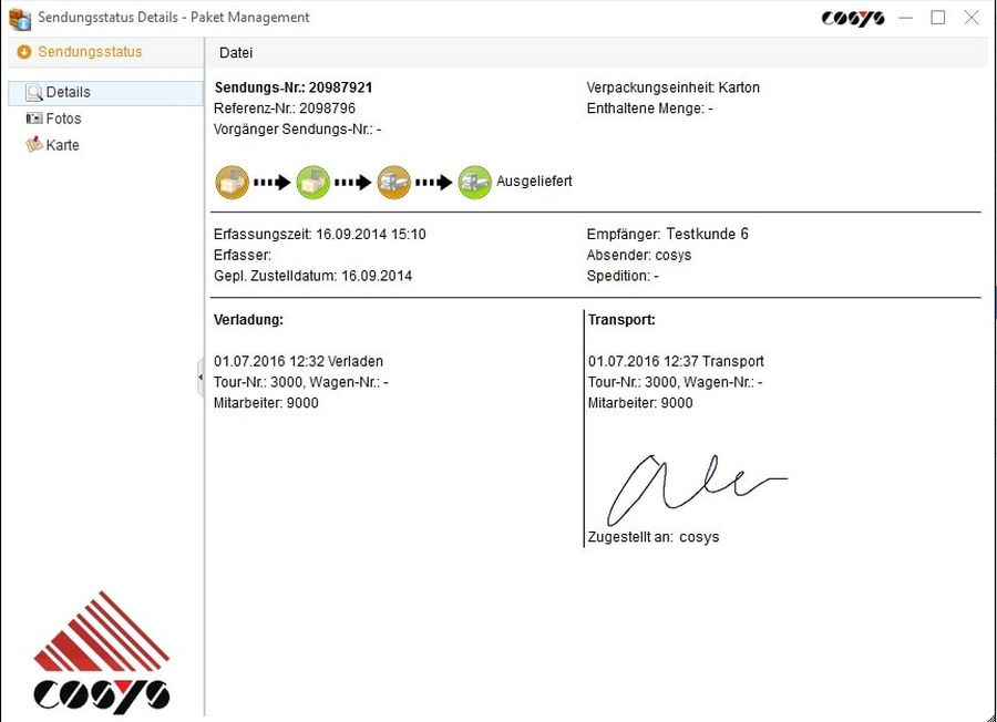 Tourenplanung Transport Software